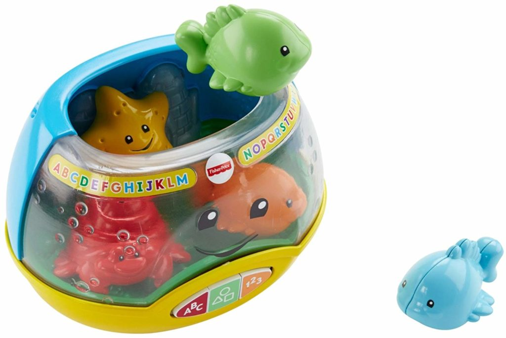 Fisher-Price Laugh & Learn Magical Lights Fishbowl