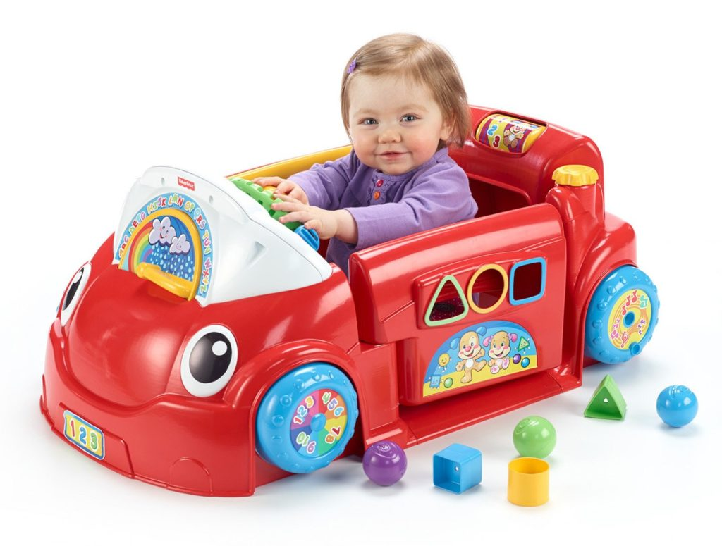 Fisher-Price Laugh and Learn Crawl Around Car