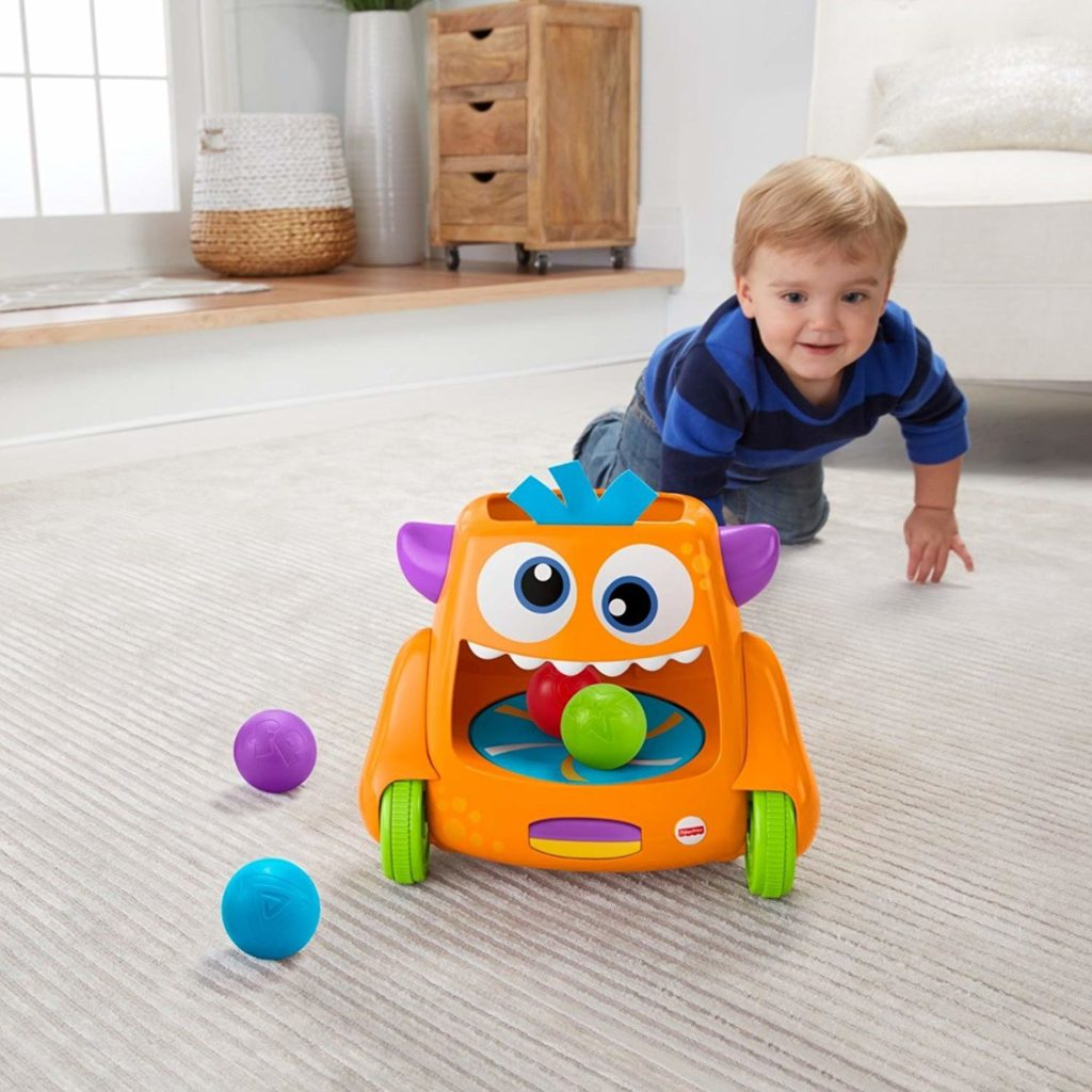Fisher-Price Zoom-N-Crawl Monster (Best Toy Award)