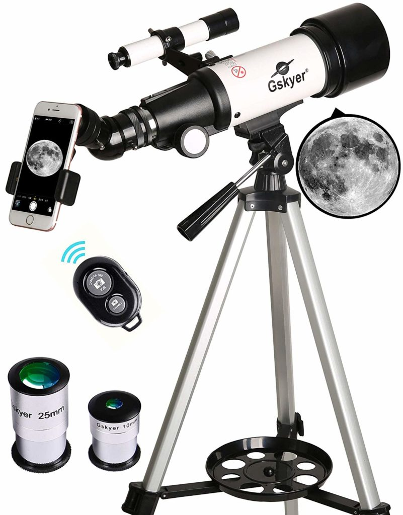 Gskyer Travel Refractor Telescope for Kids