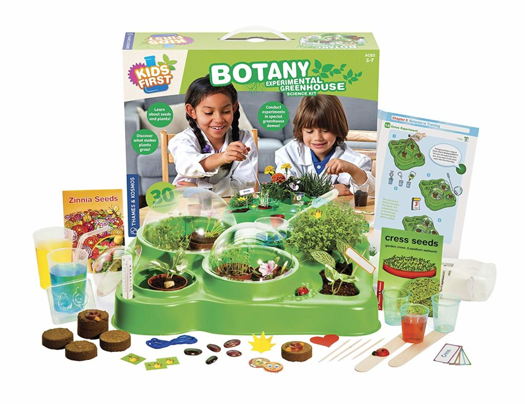 Thames & Kosmos Kids First Botany - Experimental Greenhouse Kit