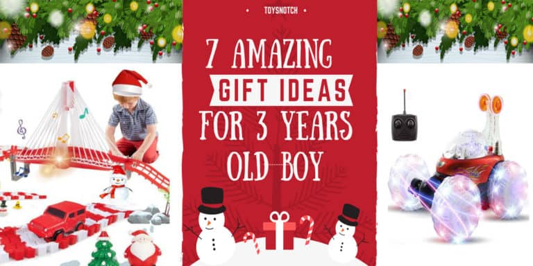 7 Amazing Christmas Gift Ideas For 3 Years Old Boy in 2021