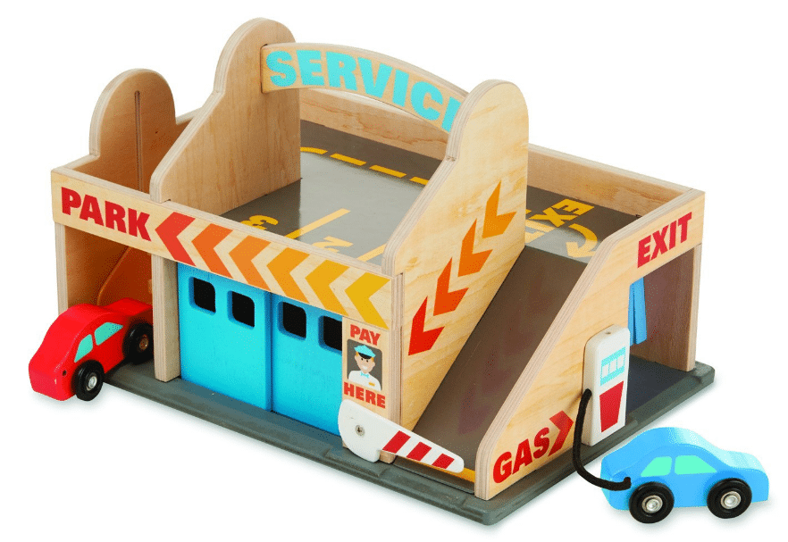 Petrol station toys for kids