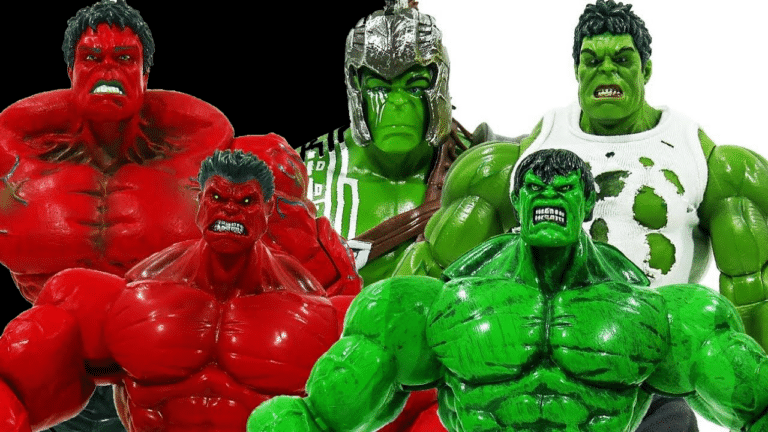 Incredible Hulk Toys & Action Figurine Collection for Toddlers 2021
