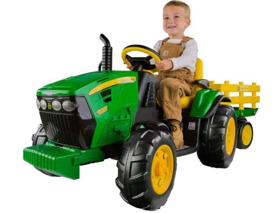 battery powered tractor toys for toddlers 2020