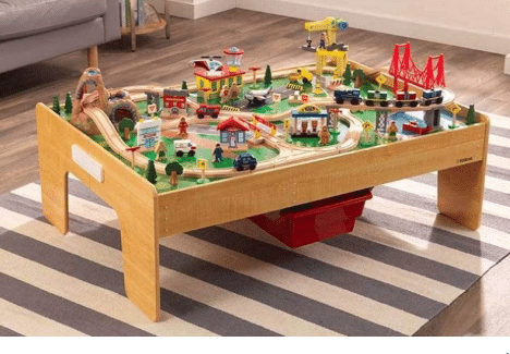 kidkraft train table