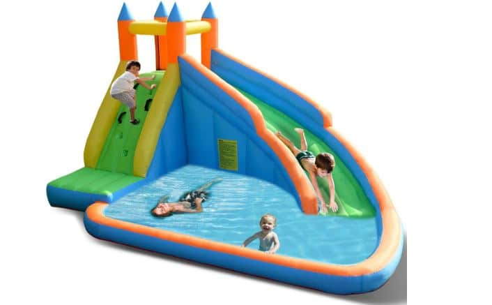 Inflatable pools with slides for toddlers