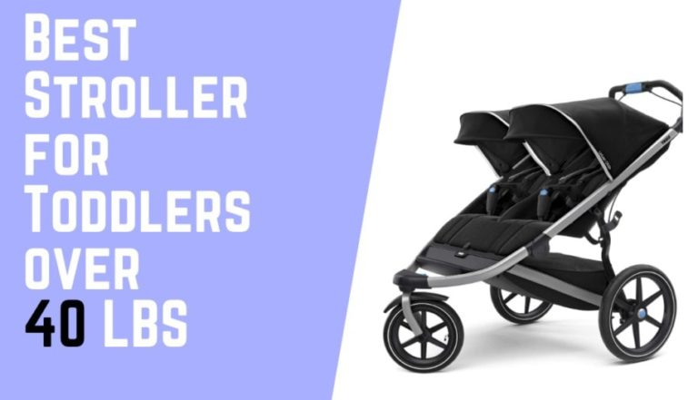 The 5 Best Stroller for Toddlers Over 40 lbs [Parents Choice]