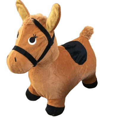 Horse bouncing toys for kids
