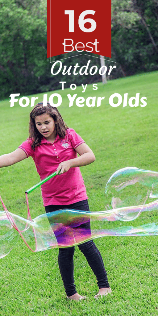 Best Outdoor Toys for 10 Year Olds