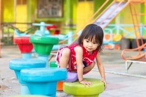 Kid climbing toys