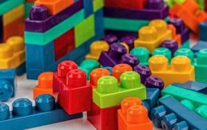 colorful building blocks for toddlers