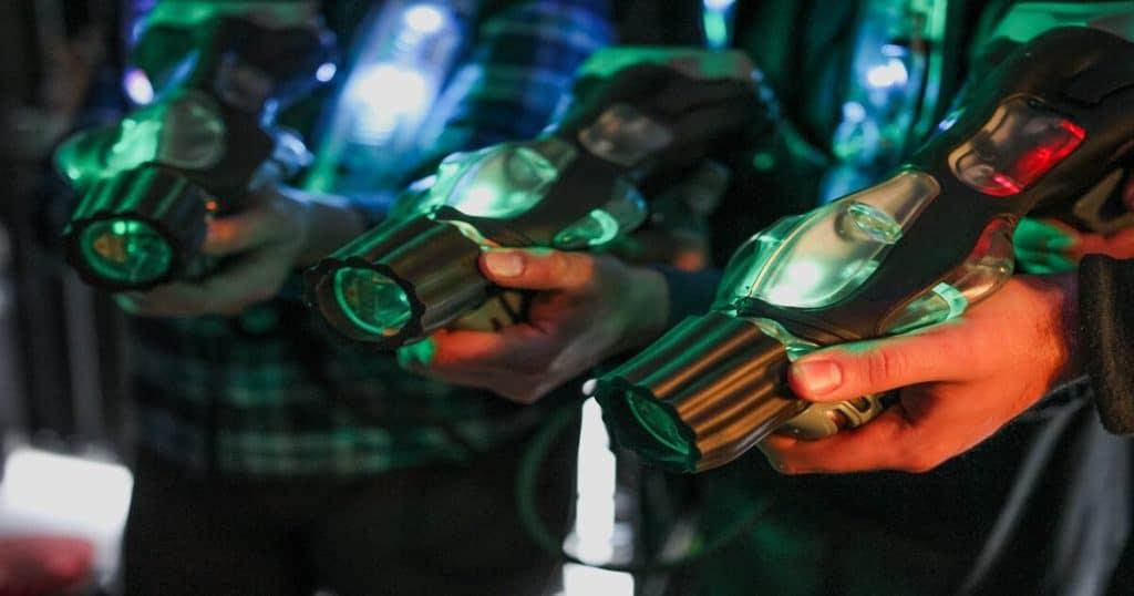 Laser tag gun - review post