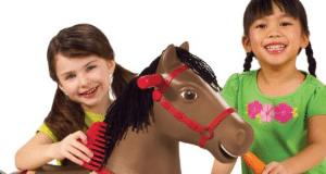 string rocking horse